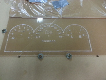 custom cnc router edge lit acrylic