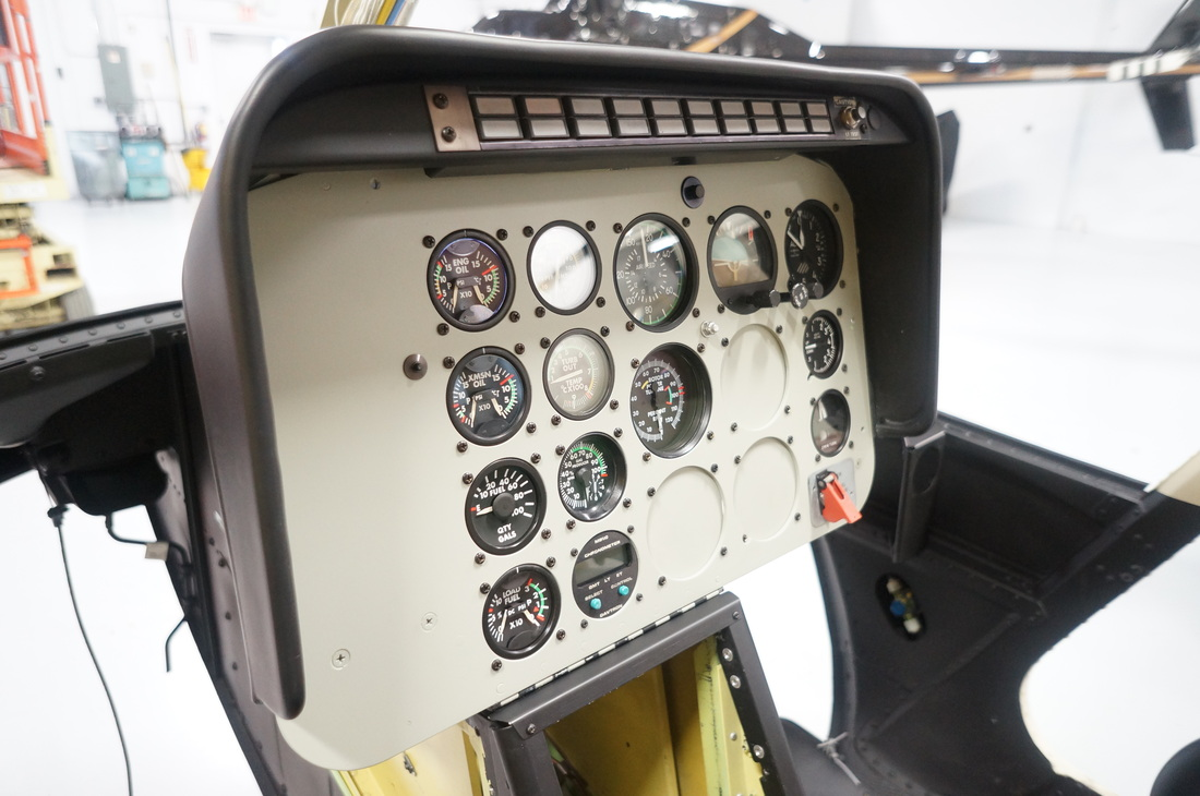 Nolin Engineering instrument panel